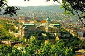 Königlicher Palast in Budapest