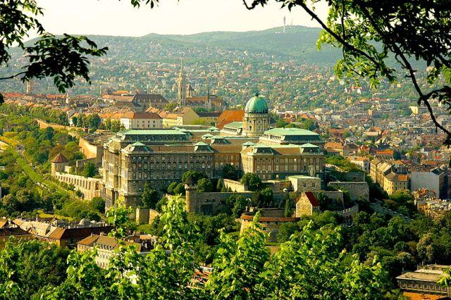 Koeniglicher Palast in Budapest