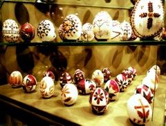 Ostereier in Ungarn