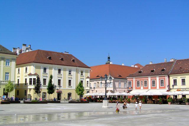 Györ, Hauptplatz