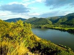 Visegrad im Donauknie