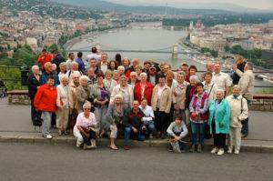 Gruppenfoto auf dem Gellertberg