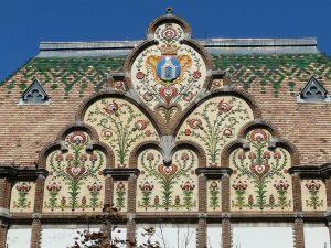 Rathaus im Jugendstil in Kiskunfélegyháza