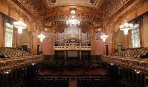 der Grosse Saal der Musikakademie in Budapest