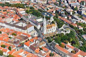Budaer Burg mit der Matthiaskirche