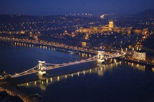 Budapest in der Nacht