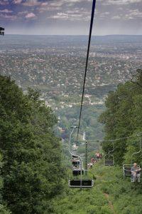 Sesselbahn in Budapest
