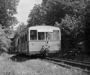 Zahnradbahn in Budapest,1959