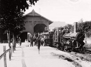 Zahnradbahn in Budapest