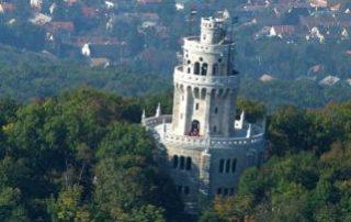 Elisabeth Aussichtsturm auf dem Johannesberg in Budapest