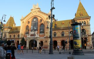 Grosse Markthalle in Budapest