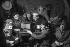 Leben in den Kellern während der Revolution von 1956 Foto: Fortepan/ Nagy Gyula