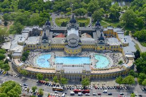 Széchenyi Thermalbad in Budapest
