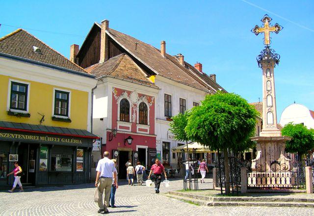 Szentendre im Donauknie