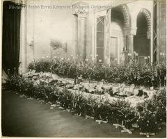 Spendeaktion zu Weihnachten 1916