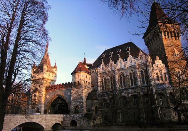 Vajdahunyad Schloss in Budapest