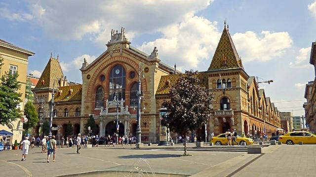 Budapest:Zentrale Markthalle
