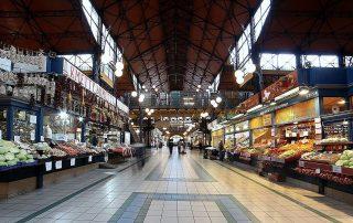 Grosse/ Zentrale Markthalle in Budapest