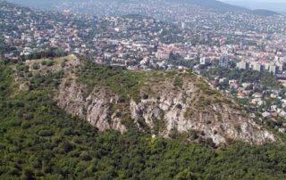 Sas-Berg, Adlerberg in Budapest